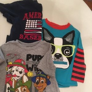 Other - Boys toddler shirts